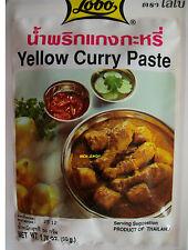 amarillo Curry Paste original Tailandia de Asia Food especias