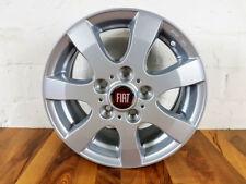 4x Alufelgen FIAT 15 Zoll Wohnmobil Bürstner Delhteffs Carado Adria silber