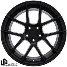 "19"" UP520 BLACK 19x8.5/9.5 STAGGERED 5x112 WHEELS RIM VW CC PASSAT AUDI A8 A6 A4"