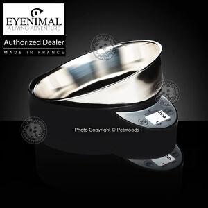 Eyenimal Intelligent Pet Bowl XL Integrated Scale Dog Cat 1.8lbs Food-Liquids