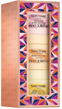Sanctuary Body Butter Trio Gift Set 3 x 100ml Body Butters Boxed