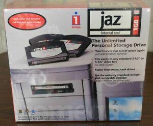 NEW Iomega Jaz V1000Si Internal 1GB SCSI 50-Pin Drive PC Mac Music Samplers