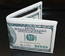 Men Wallet Credit Card Holder 100$ Money Slim Pocket Bifold PU Leather. 0106