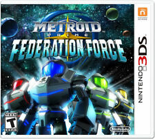 Metroid Prime: Federation Force 3DS New 3DS, Nintendo 3DS