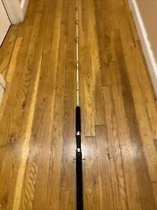 Custom Black Fish Rod MED-HEAVY ACTION 6 Foot