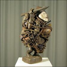 59123) Afrikanische Bakongo Holz Figur Kongo Afrika KUNST