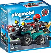 Playmobil 6879 City Action Robber's Quad Toy with Loot