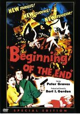 THE BEGINNING OF THE END D.VD 1957 B/W