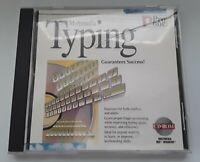 Multimedia Typing Teacher (CD-Rom 1995 Pro One Studio) For Windows 3.1/95