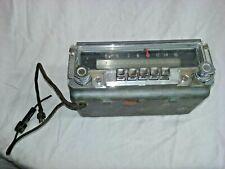 1953 Dodge AM Push Button Radio With Knobs Mopar No. 609 6 Volt   - D724