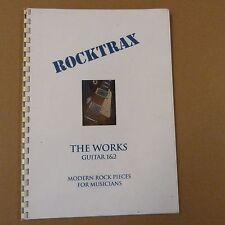 Rocktrax le opere per chitarra 1 & 2, Modern Rock PEZZI FO musicisti Incl. CD