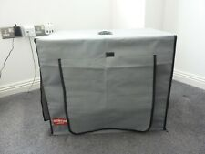 ANIMAL INSTINCTS GREY Waterproof  Pet Crate Cover Small NEW