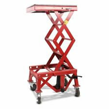 Hydraulic scissor lift ConStands Moto Cross XL red