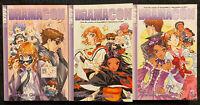 Dramacon 1, 2, 3 Manga Graphic Novel OOP Romance Tokyopop