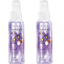 (PACK OF 2) Avon Naturals Scented Spritz Violet & Lychee Room/Body Spray 100ml