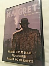 The BRUNO CREMER  Maigret Collection -  Episodes 40-42 on 3 DVDs  Region 1