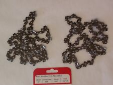 "PET331 (2) Pack Echo 14"" CS-310 CS-315 Chainsaw Saw Chain 3/8 LP .050 52 DL"