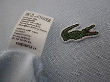 LACOSTE Polo Shirt, Devanlay, size - 4/medio, BLU, in buonissima condizione