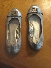 Coach Shoes Ballet Flats Gold Size 6 A4