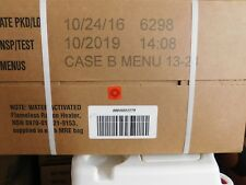 Military MRE Case -12 Meals Ready to Eat - Case B Sealed TEST/INSP 2019