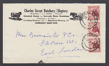 South Africa Sc 201 on 1959 Charles Street Butchery & Slagtery advertising cover