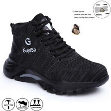 UK Safety Shoes Mens & Women Steel Toe Cap Work Shoes Trainers Boots Comfortable