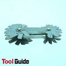 52 Blades Screw Thread Gauge Angle 60° Metric 55° Imperial Tap Pitch Inspection