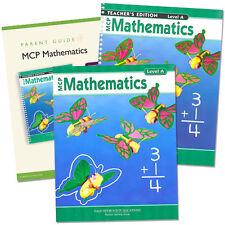 MCP Mathematics Homeschool SET - Homeschooling Curriculum Level A - Grade 1