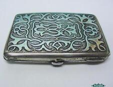 Victorian Sterling Silver Aide Memoire / Card Case Sampson Mordan London 1894