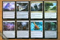 Lot of 8x Different Commander Utility Lands *NM* (MTG Magic EDH Reliquary Tower)