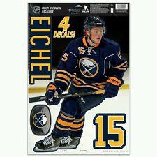 JACK EICHEL BUFFALO SABRES 11X17 MULTI-USE DECALS LIKE A FATHEAD NHL