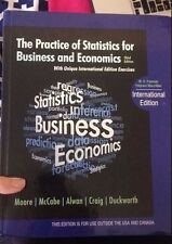 The Practice of Statistics for Business and Economics by Moore - Same as US Edi