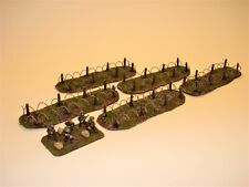 Battlefield Accessories #BA09 15-20mm Resin Barbed Wire Sections - Unpainted