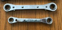 """S-K, ratcheting box end wrench, 6 point, 1/2"""" x 9/1"""" or 3/8"""" x 7/16"""" You choose"""