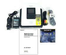 Sony DVD Recorder VRD-MC5 DVDirect Multi-Function Manuals Cables DVD-R Tested 👍