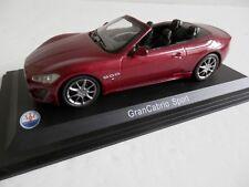 WhiteBox WBS031. 1/43. Maserati GranCabrio Sport. Red.