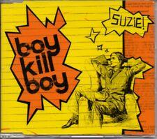 BOY KILL BOY - SUZIE - FIERCE PANDA 2005 CD SINGLE - MINT