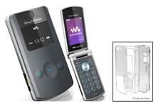 durchsichtige Kristall Hülle (Hartplastikhülle) ~ sony Ericsson W508 W508i
