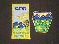 Canada CJ '81 2 diff patches            c24