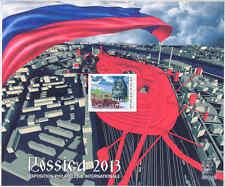 MOZAMBIQUE RUSSIA ARCHITECTURE ROSSICA 2013 PHILATELIC EXHIBITION S/S VIII