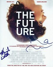 Miranda July & Hamish Linklater signed The Future 8x10 photo