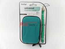 Vivitar Universal Hard Case for Digital Camera MP3 MP4 Player iPod + Wrist Strap