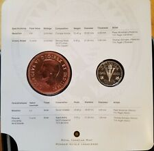 Canada 2005 Sterling Silver 5 Cent Victory in Europe Coin & Medallion Set