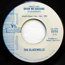 the BLACKWELLS 45 Show me around / Old coast road LIBERTY pop PROMO   Jr815