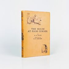 A. A. Milne: The House at Pooh Corner - First Edition
