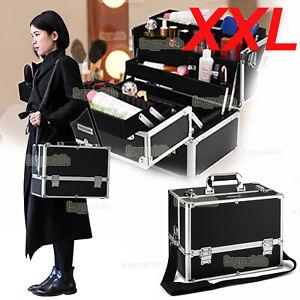Kosmetikkoffer Schminkkoffer Alu Nagelstudio Beautycase Koffer Nageldesignkoffer