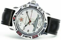 WATCH Men's VOSTOK KOMANDIRSKIE # 811428  RUSSIAN  MILITARY  NEW