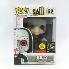 Funko pop #52 SAW BILLY San Diego Comic Con SDCC Exclusive GLOW IN THE DARK 2014