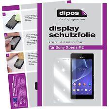 1x dipos Sony Xperia M2 Protector de Pantalla protectores transparente