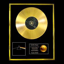 PINK FLOYD DARK SIDE OF THE MOON CD GOLD DISC VINYL LP
